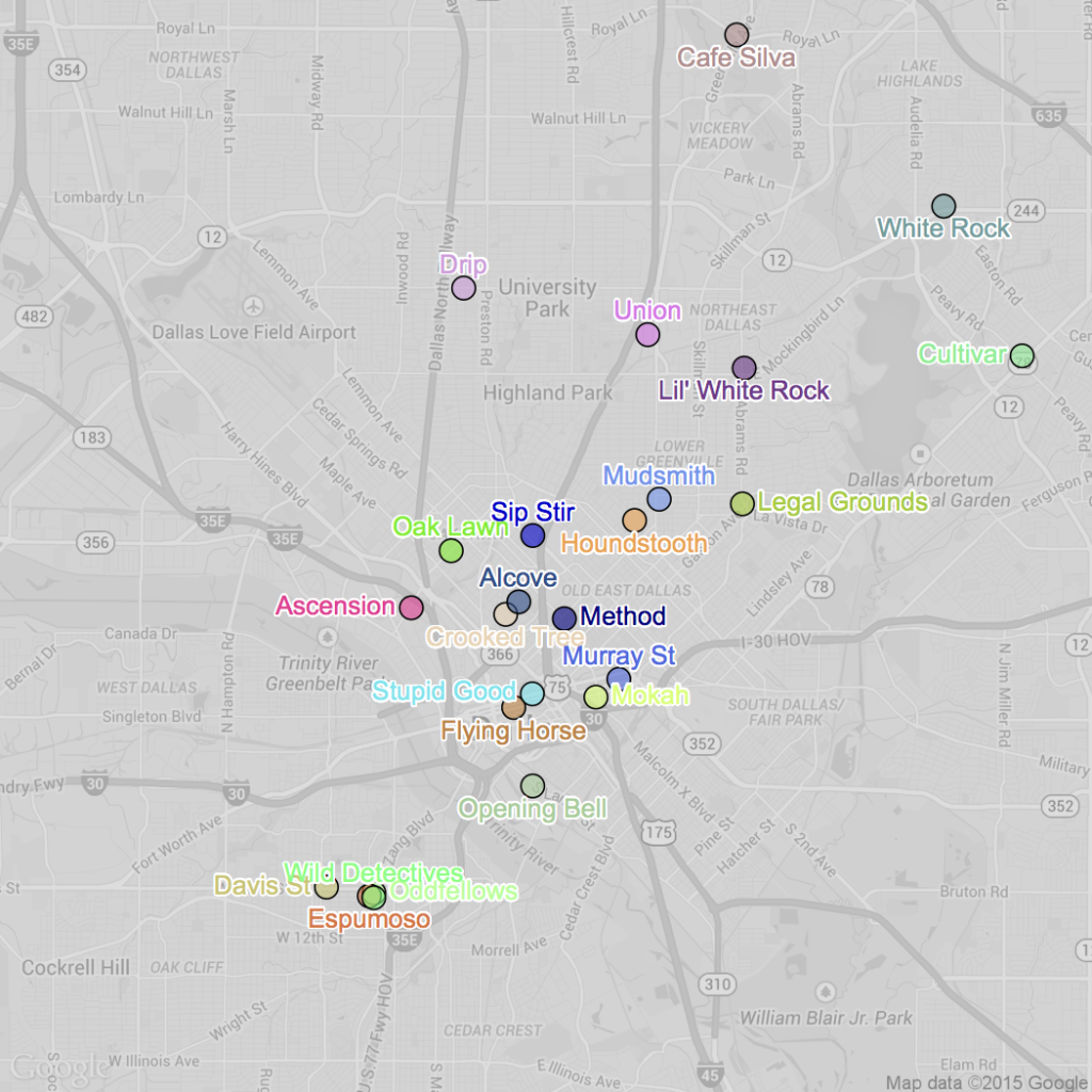 coffeemap